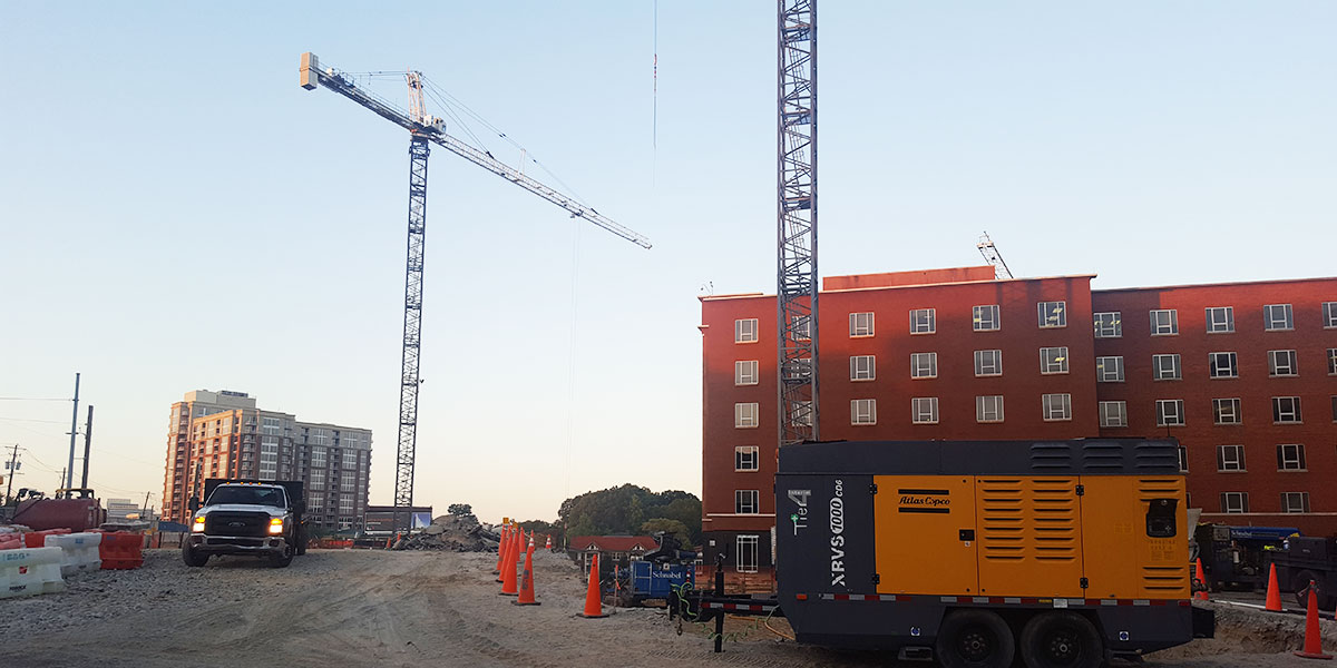 Building Update for Piedmont Atlanta Tower: Week of October 20-27
